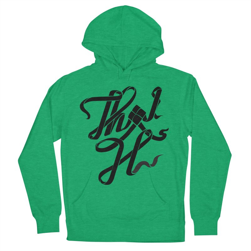 Thai H Men's French Terry Pullover Hoody by pugpug's Artist Shop
