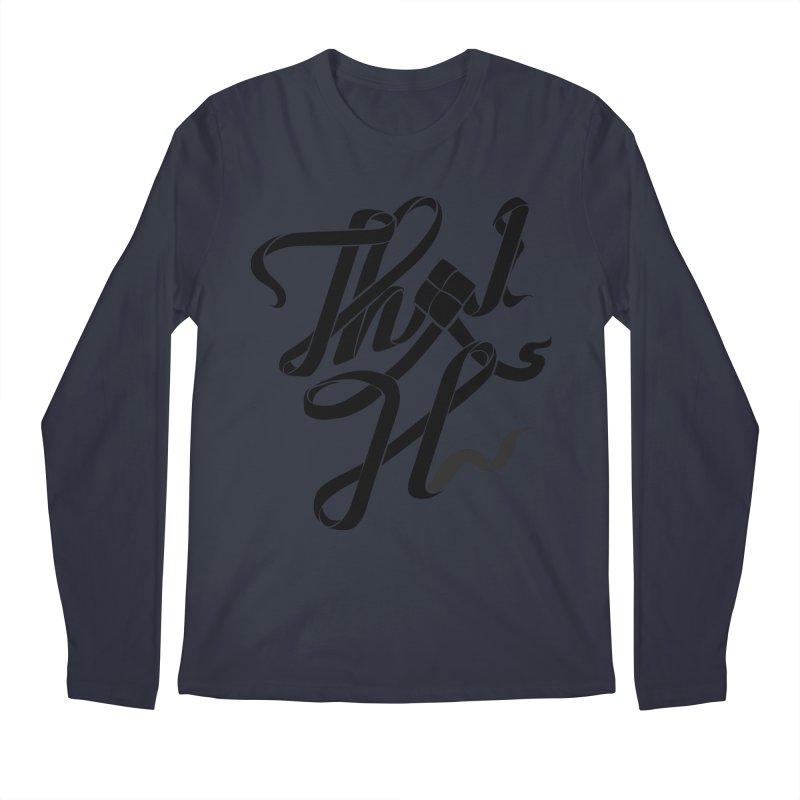 Thai H Men's Regular Longsleeve T-Shirt by pugpug's Artist Shop