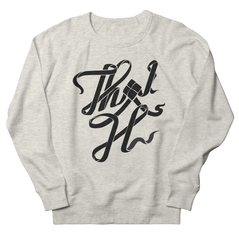 Thai H Women's French Terry Sweatshirt by pugpug's Artist Shop