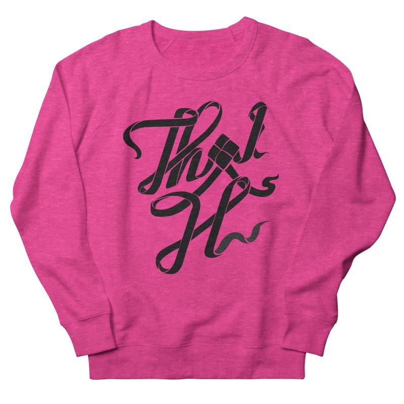 Thai H Men's French Terry Sweatshirt by pugpug's Artist Shop
