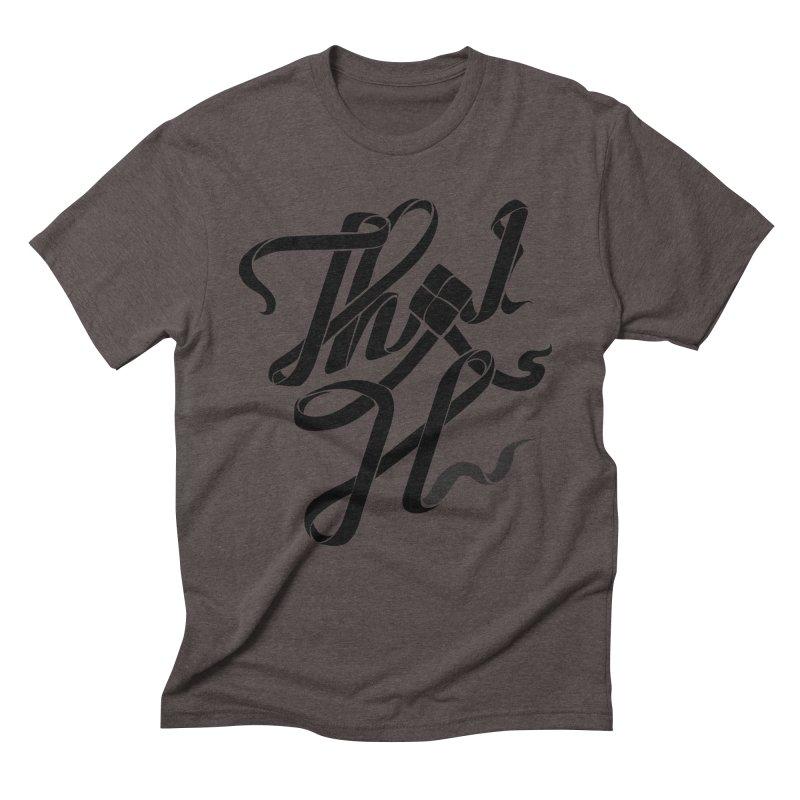 Thai H Men's Triblend T-shirt by pugpug's Artist Shop