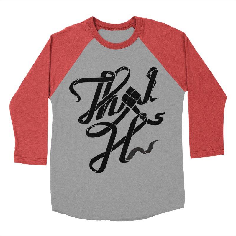 Thai H Women's Baseball Triblend Longsleeve T-Shirt by pugpug's Artist Shop