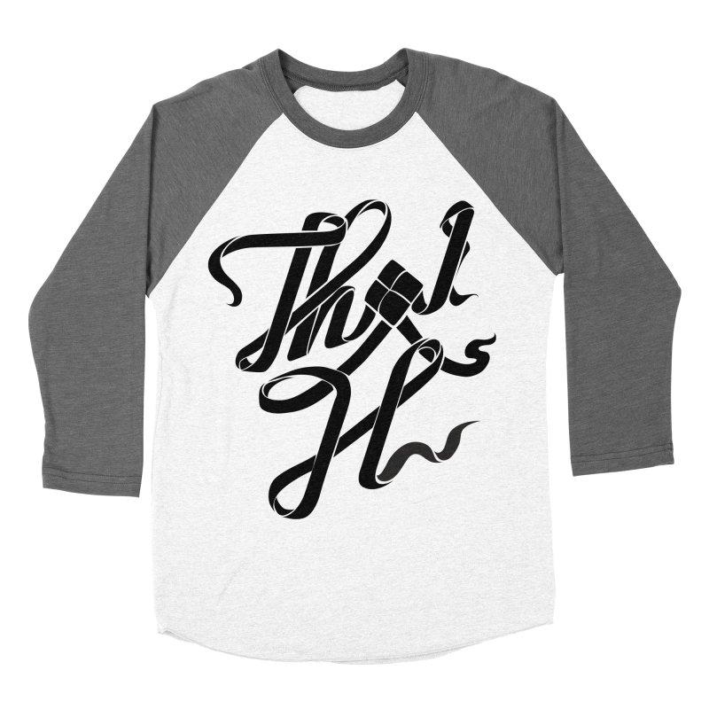 Thai H Men's Baseball Triblend T-Shirt by pugpug's Artist Shop