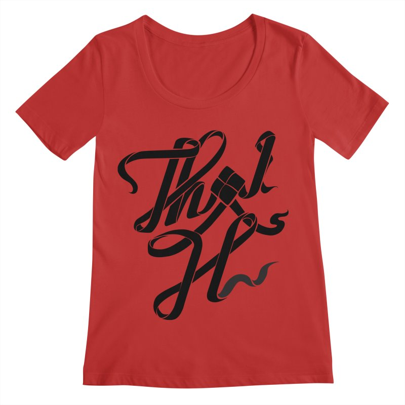 Thai H Women's Regular Scoop Neck by pugpug's Artist Shop