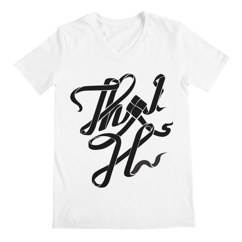 Thai H Men's V-Neck by pugpug's Artist Shop