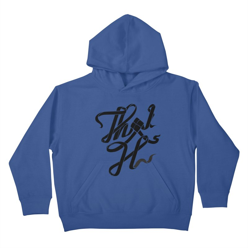 Thai H Kids Pullover Hoody by pugpug's Artist Shop