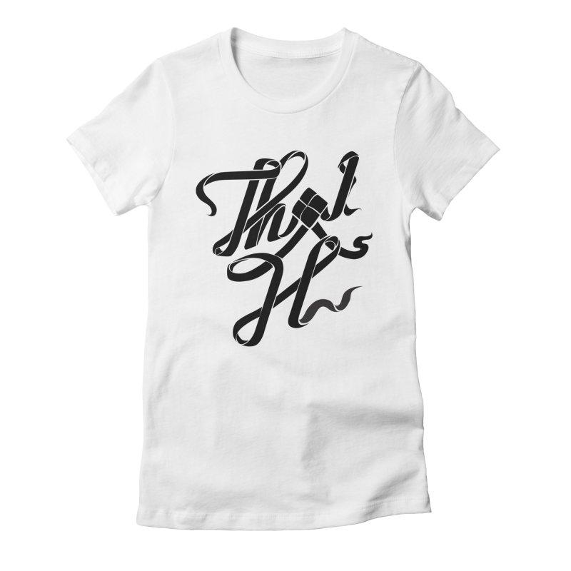 Thai H Women's Fitted T-Shirt by pugpug's Artist Shop