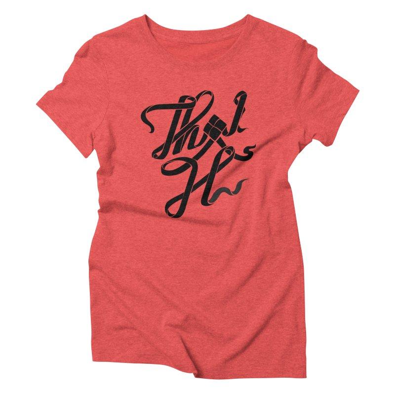Thai H Women's T-Shirt by pugpug's Artist Shop