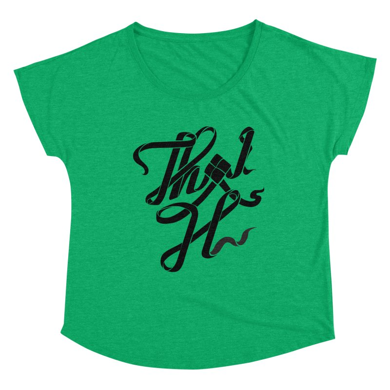 Thai H Women's Scoop Neck by pugpug's Artist Shop