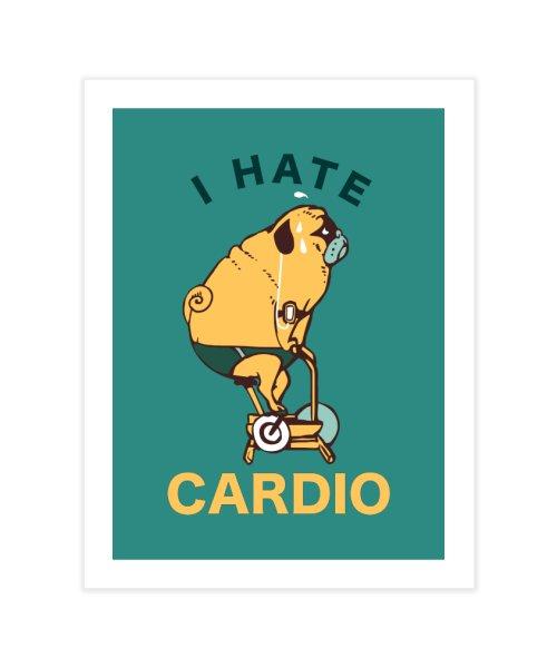 I hate cardio pug