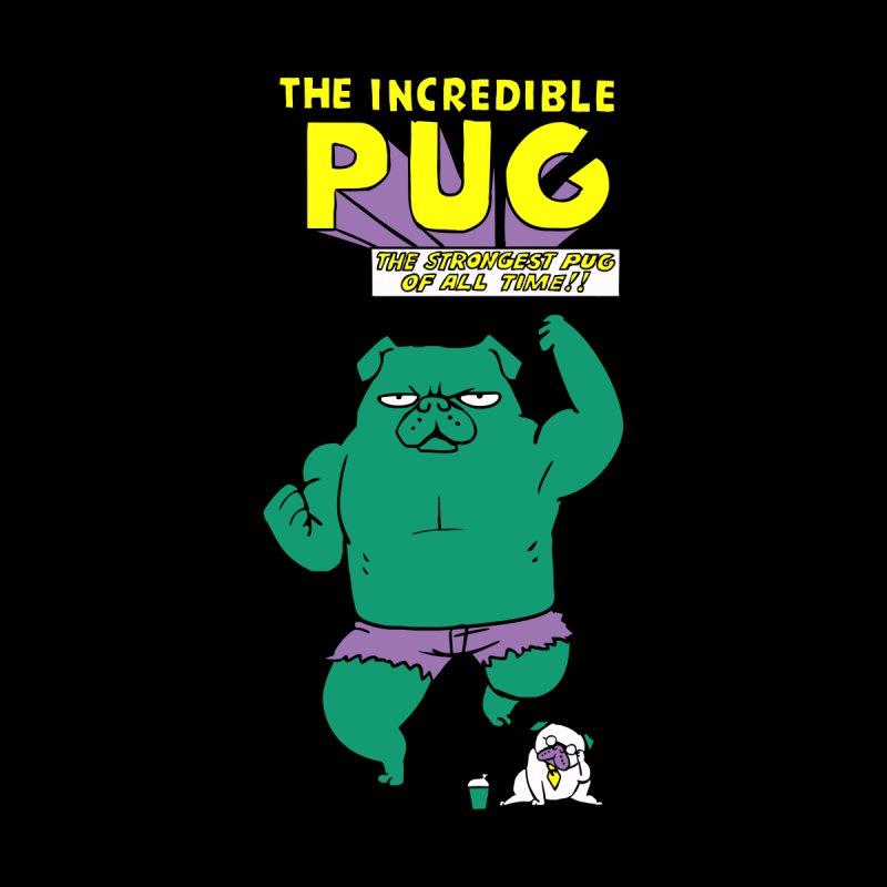 The Incredible Pug Accessories Beach Towel by Pugs Gym's Artist Shop