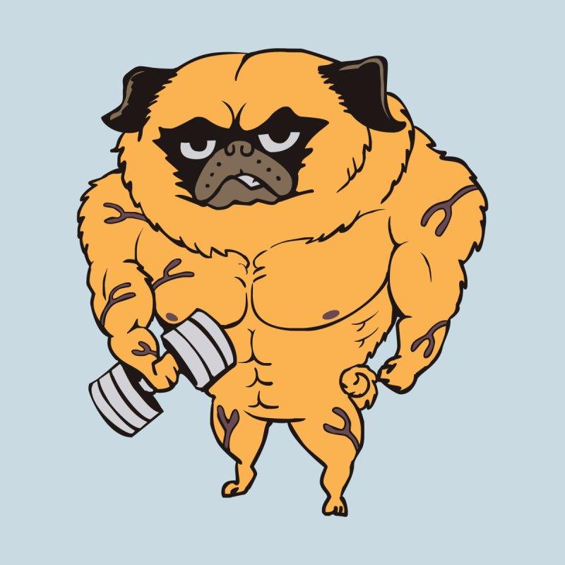 Buff Pug Men's Tank by Pugs Gym's Artist Shop