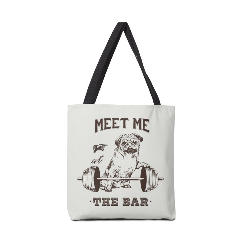 Meet Me at The Bar Accessories Bag by Pugs Gym's Artist Shop