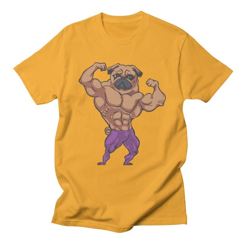 Just Lift Men's T-Shirt by Pugs Gym's Artist Shop