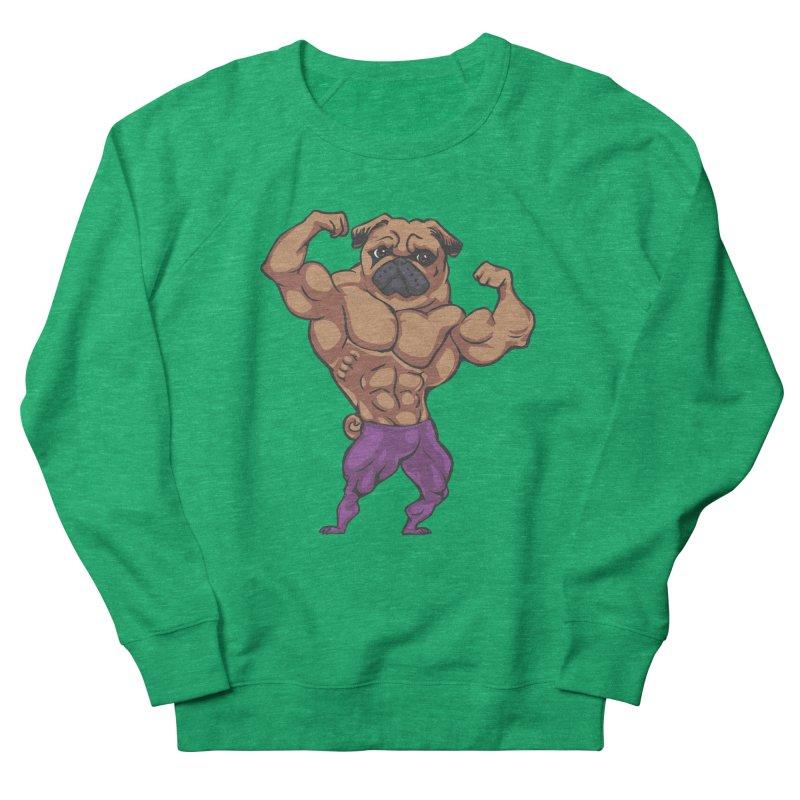 Just Lift Women's Sweatshirt by Pugs Gym's Artist Shop