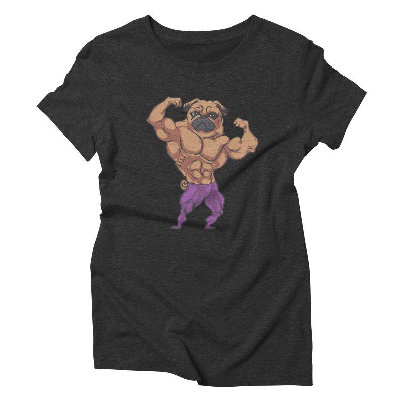 Just Lift Women's T-Shirt by Pugs Gym's Artist Shop