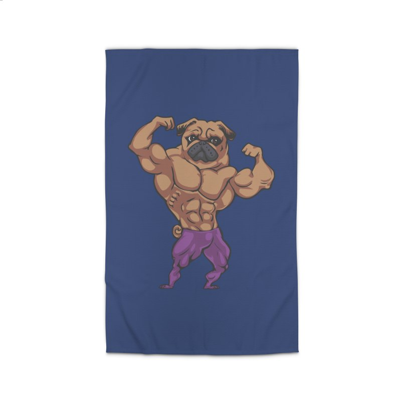 Just Lift Home Rug by Pugs Gym's Artist Shop