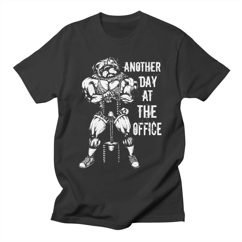 Another Day At The Office Men's T-Shirt by Pugs Gym's Artist Shop