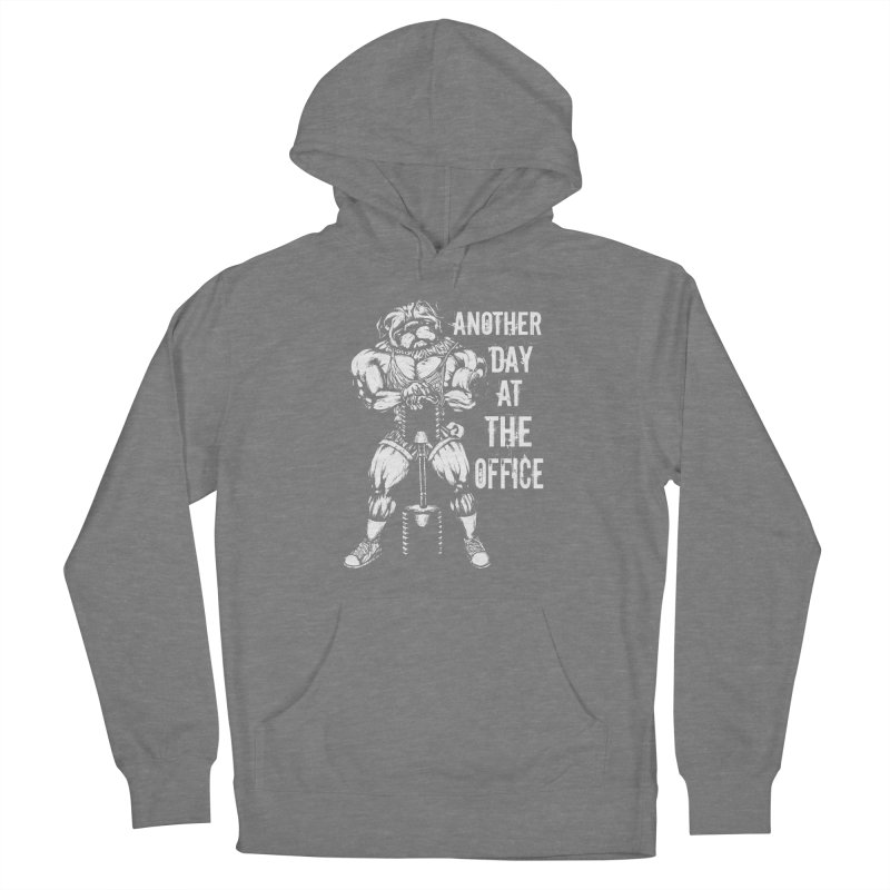 Another Day At The Office Women's Pullover Hoody by Pugs Gym's Artist Shop