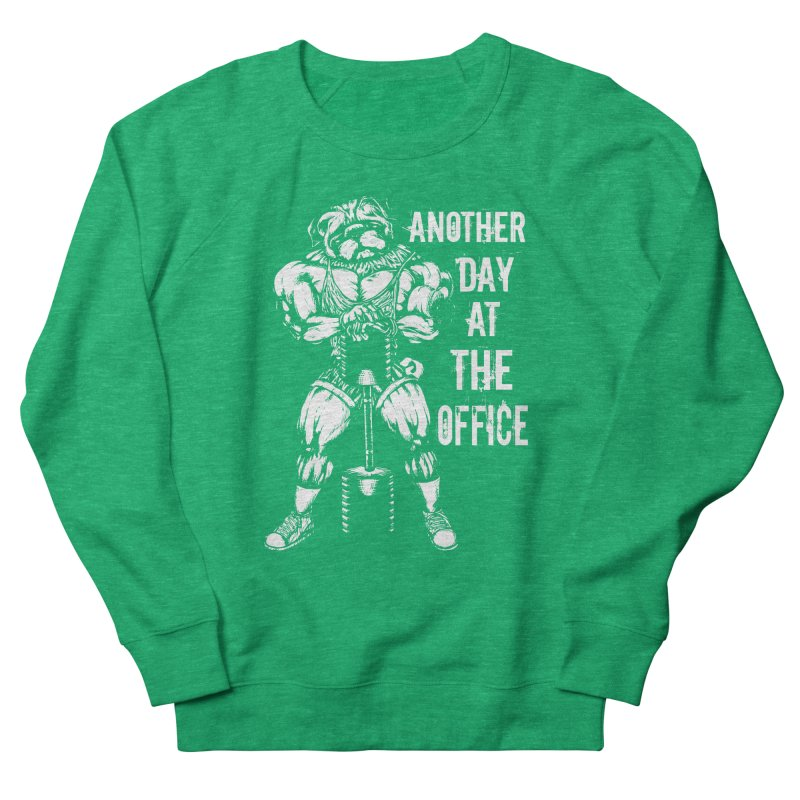 Another Day At The Office Women's Sweatshirt by Pugs Gym's Artist Shop
