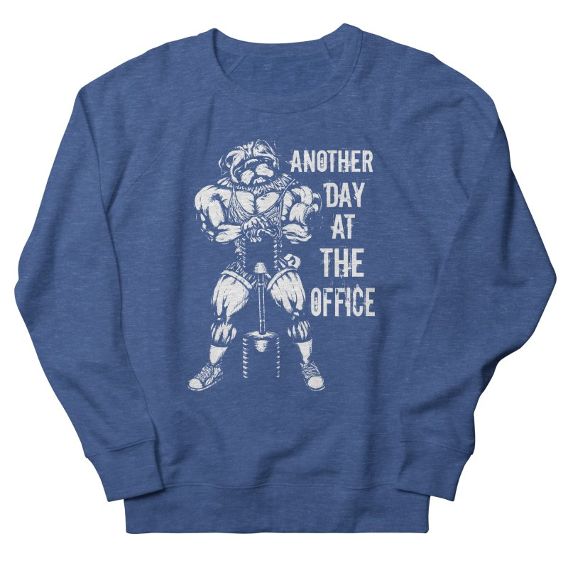 Another Day At The Office Men's Sweatshirt by Pugs Gym's Artist Shop