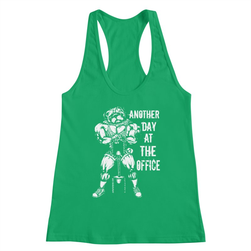 Another Day At The Office Women's Tank by Pugs Gym's Artist Shop