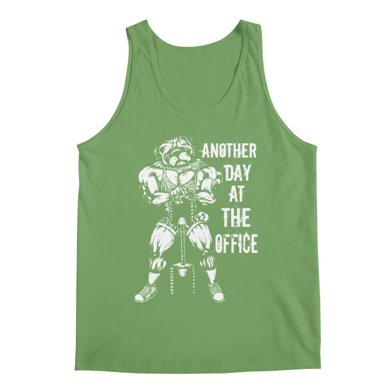 Another Day At The Office Men's Tank by Pugs Gym's Artist Shop