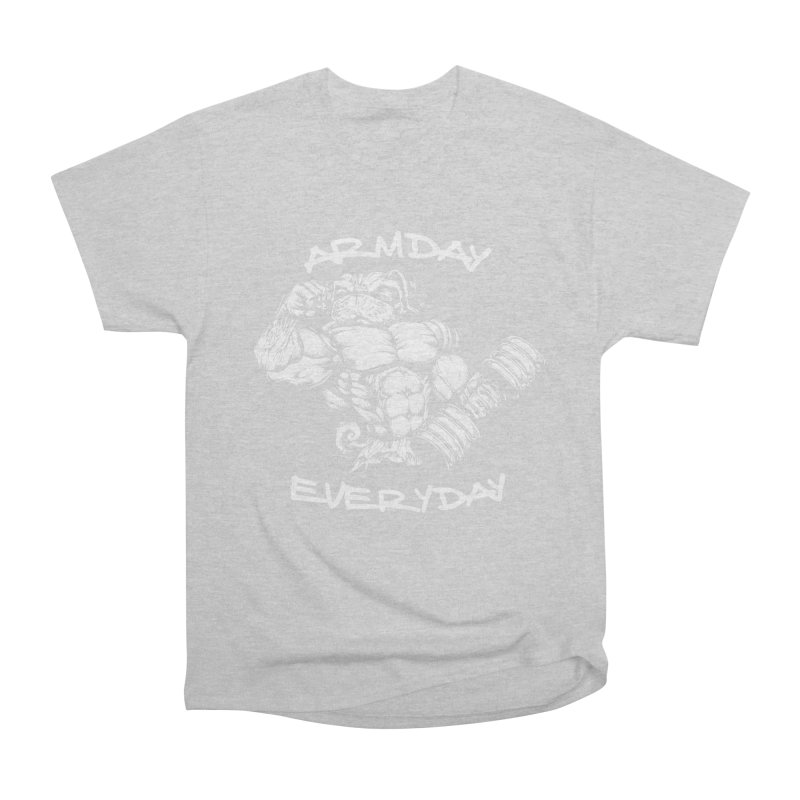 Arm Day Everyday Men's T-Shirt by Pugs Gym's Artist Shop