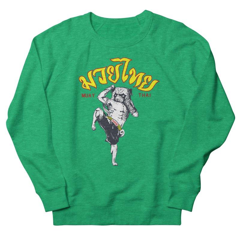 Pug Muay Thai Women's Sweatshirt by Pugs Gym's Artist Shop
