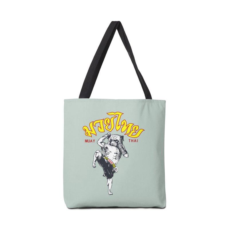 Pug Muay Thai Accessories Bag by Pugs Gym's Artist Shop