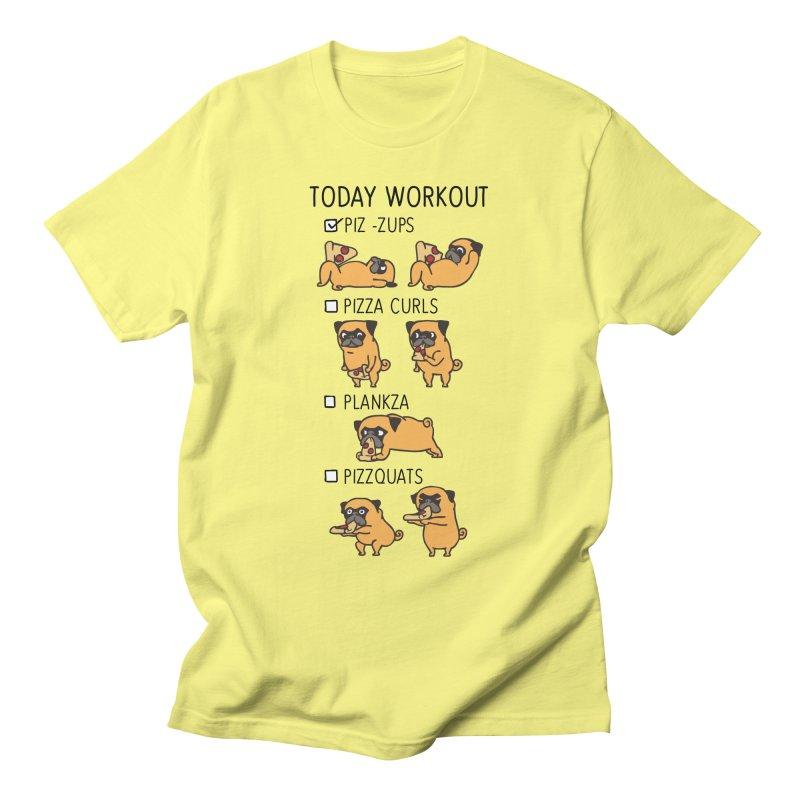 I Train to Kick Ass Men's T-Shirt by Pugs Gym's Artist Shop
