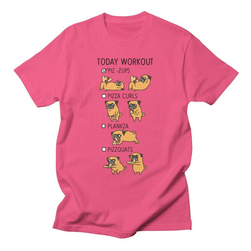 I Train to Kick Ass Women's T-Shirt by Pugs Gym's Artist Shop