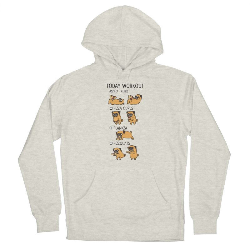 I Train to Kick Ass Women's Pullover Hoody by Pugs Gym's Artist Shop