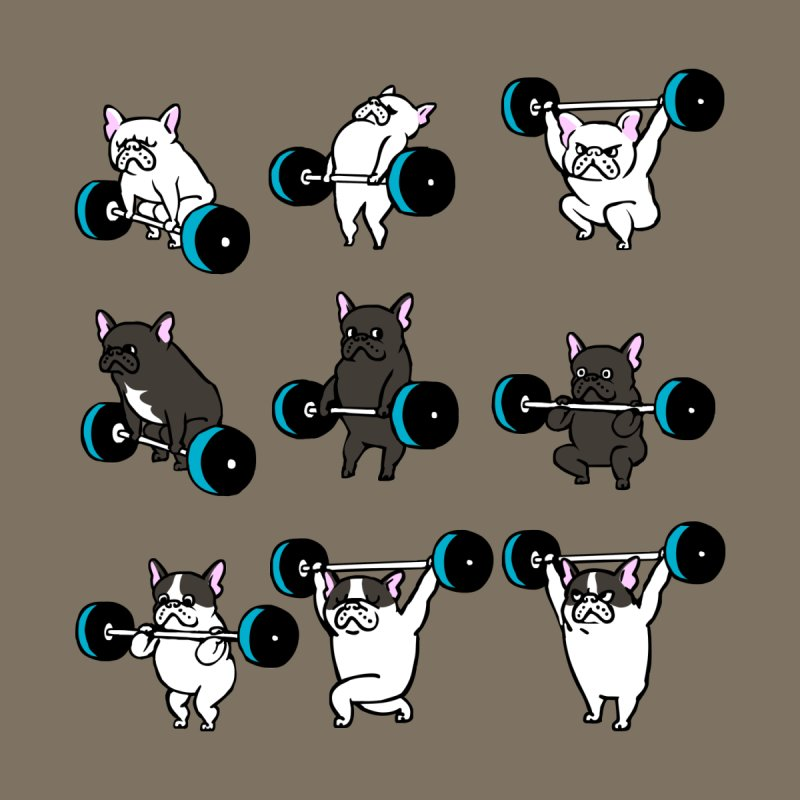 Olympic LIifting  French Bulldog Accessories Bag by Pugs Gym's Artist Shop