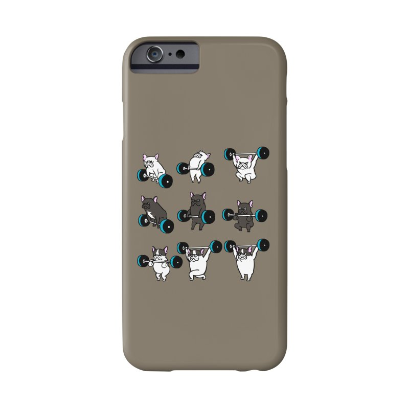 Olympic LIifting  French Bulldog Accessories Phone Case by Pugs Gym's Artist Shop