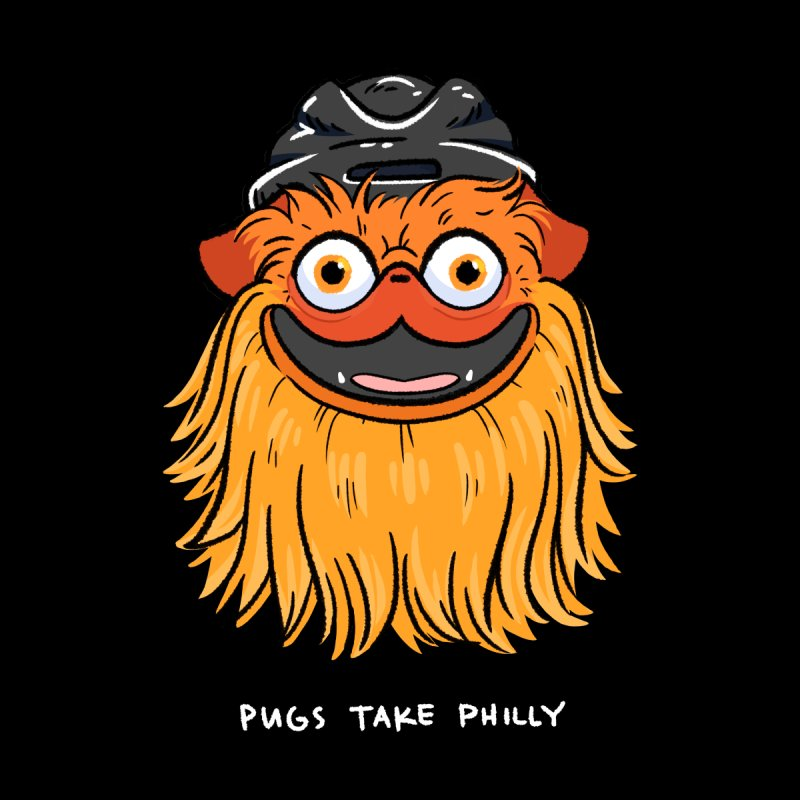 Philly Fan Pug Men's T-Shirt by Pugs Take Philly 2020