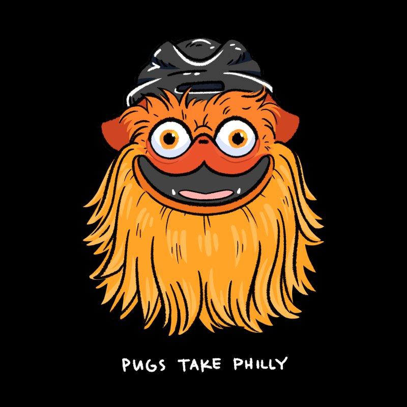 Philly Fan Pug Women's Sweatshirt by Pugs Take Philly 2020