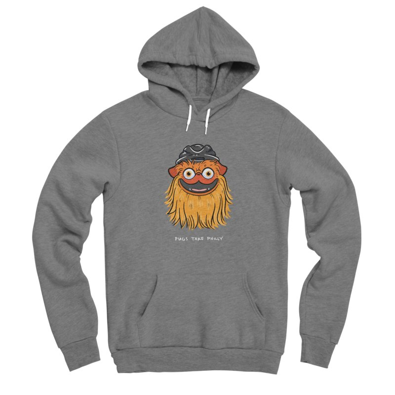 Philly Fan Pug Women's Pullover Hoody by Pugs Take Philly 2020