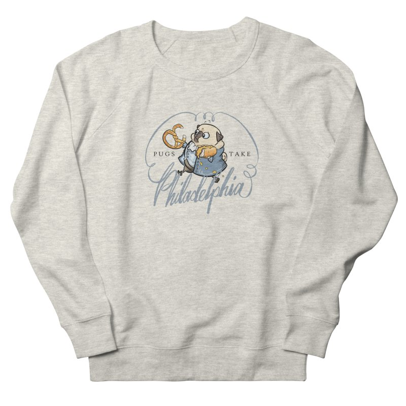 Fave Philly Foods - fawn Women's Sweatshirt by Pugs Take Philly 2020