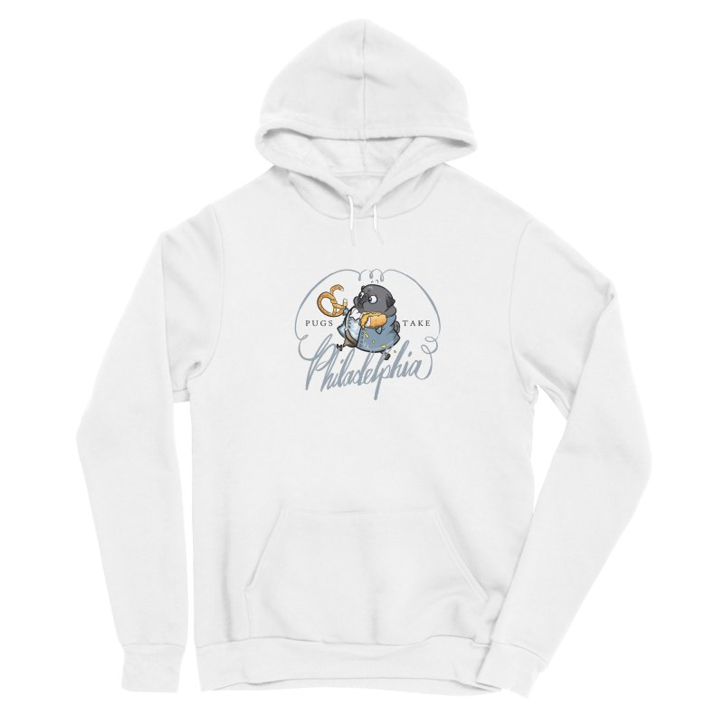 Fave Philly Foods - black Women's Pullover Hoody by Pugs Take Philly 2020