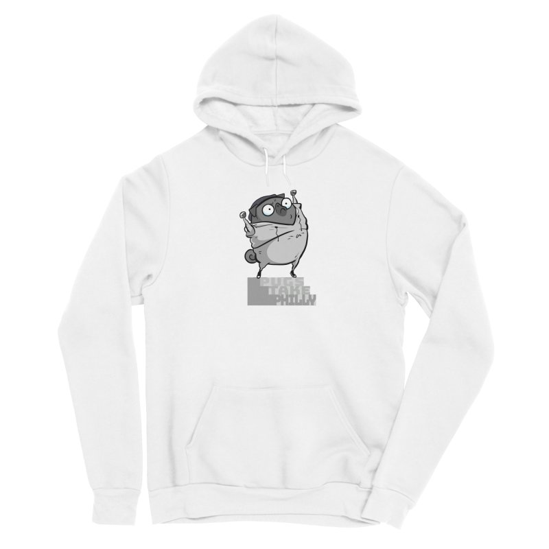 Pugs Take Philly - Rocky - black Women's Pullover Hoody by Pugs Take Philly 2020