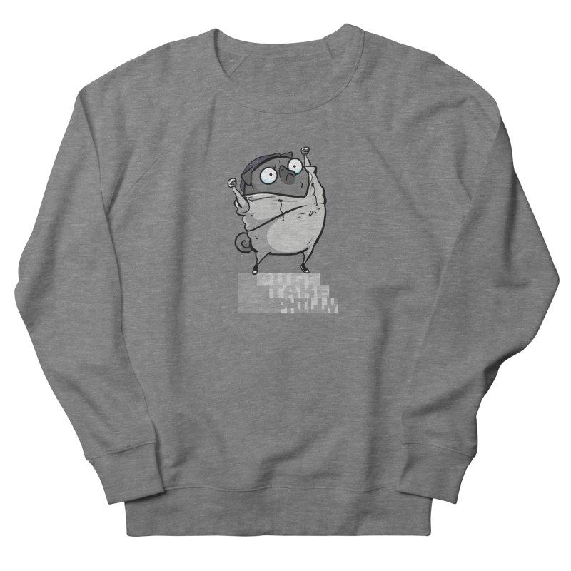 Pugs Take Philly - Rocky - black Women's Sweatshirt by Pugs Take Philly 2020