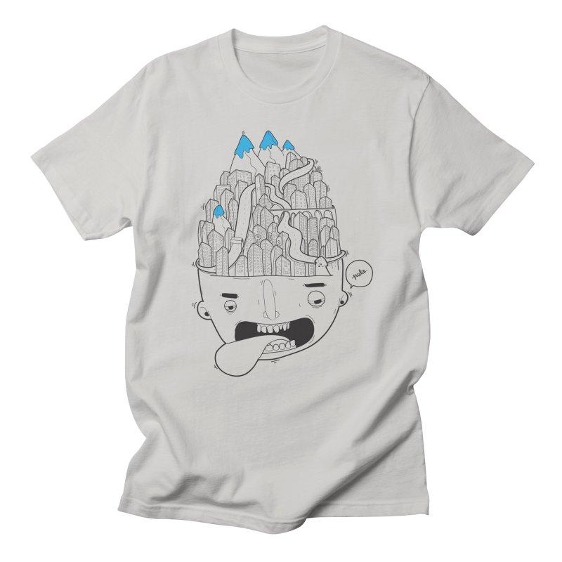 Head-city Men's T-shirt by pulce's Artist Shop