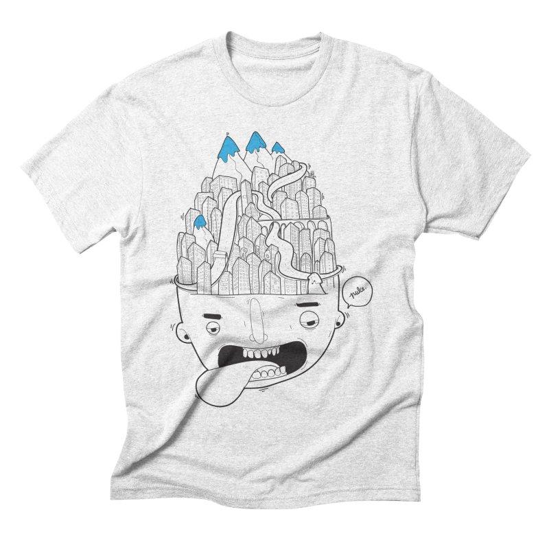 Head-city Men's Triblend T-shirt by pulce's Artist Shop
