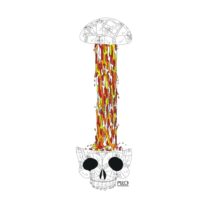 Skull-splah by pulce's Artist Shop