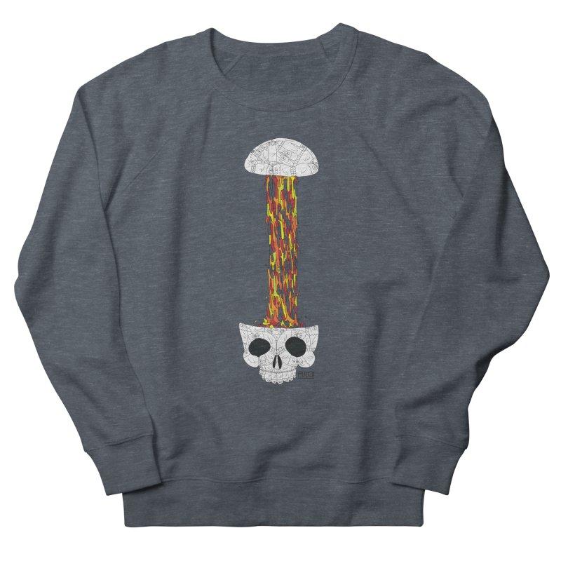 Skull-splah Men's Sweatshirt by pulce's Artist Shop