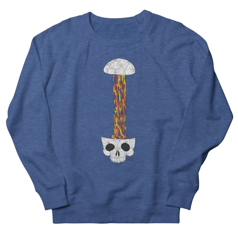 Skull-splah Men's Sweatshirt by pulce's Artist Shop