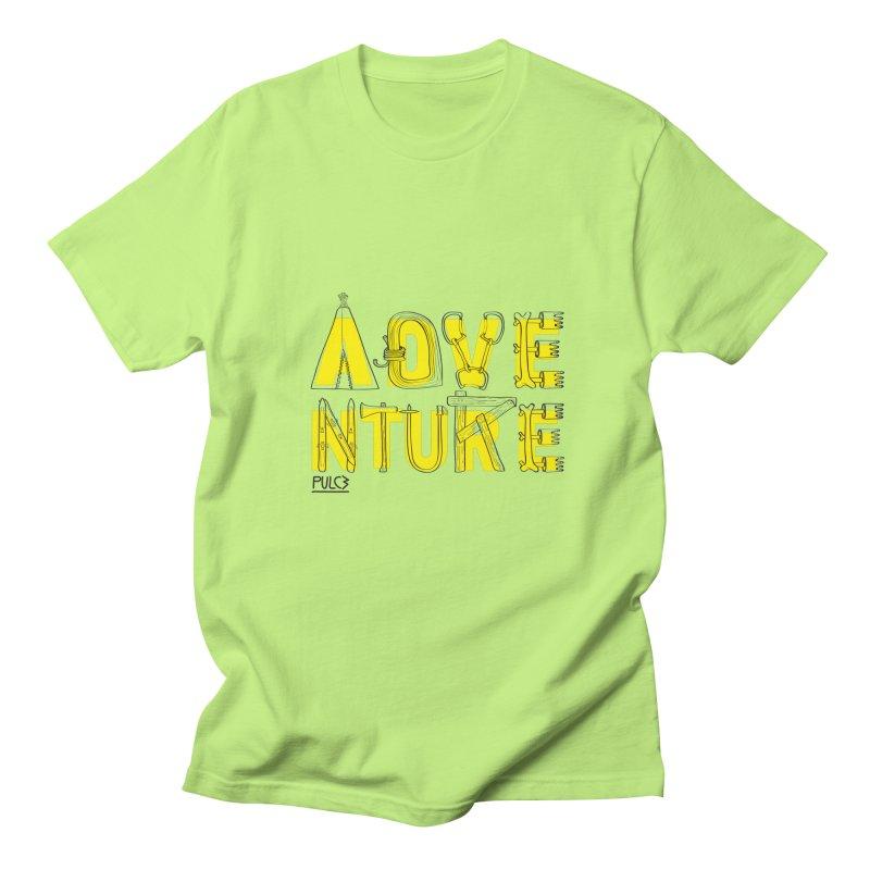 Adventure Men's T-shirt by pulce's Artist Shop