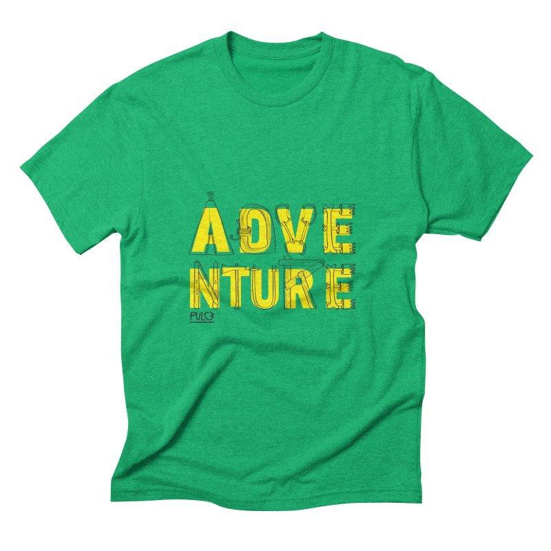 Adventure Men's Triblend T-shirt by pulce's Artist Shop