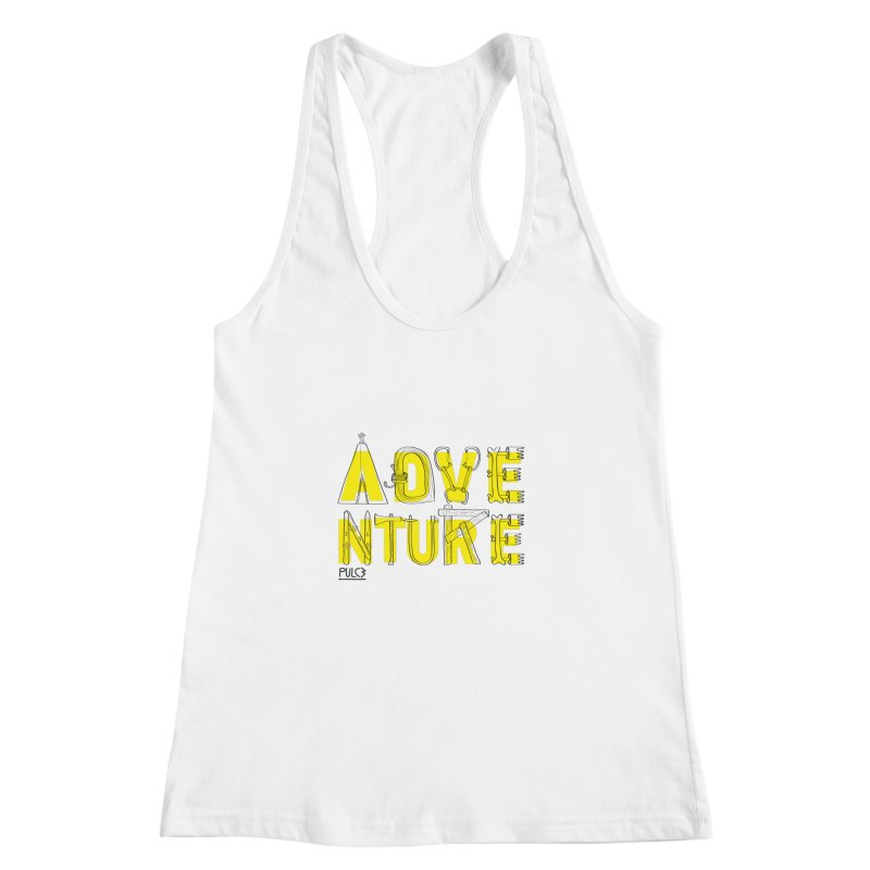Adventure Women's Racerback Tank by pulce's Artist Shop